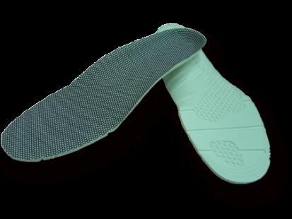 Anti-slip foam insole