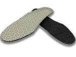 Perforated PU leather EVA foam Insole